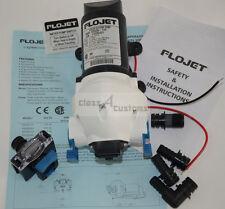 12 volt RV WATER PUMP  demand pressure swith w/ STRAINER truck flojet 03256-144A