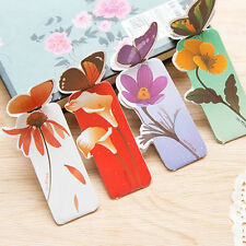 Hot 3PCS Butterfly Shape Exquisite Mini Bookmark Stationery Reading Accessories