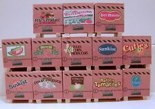 Pallet of produce set of 12  your choice