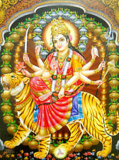 Goddess Durga poster-reprint on paper-(20X16 inches) #1111