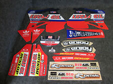 Honda CR125 1995-97 CR250 1995-96 Troy Lee Designs Lucas Oil graphics kit EJ2035