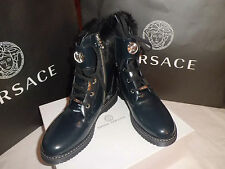 Versace  Young  Shoes  Scarponcini Pelle n. 40