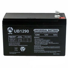 UPG 12V 9Ah SLA Battery Replacement for APC Back-UPS Pro 1300/1500
