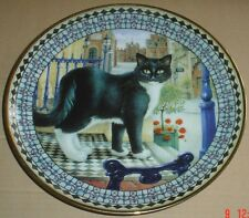 Danbury Mint Plate CATS! NICHOLAS THOMAS WOMBELL AS BUSTOPHER JONES