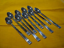 Lenox Tin Can Alley 18/10 stainless 9 iced teaspoons - lighter household use