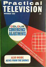 Practical Television Magazine - November 1968 - Colour Convergence Adjustments