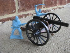 Civil War Parrott Barrel Cannon Artillery Toy Soldier Union Confederate