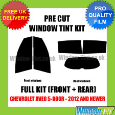 CHEVROLET AVEO 5-DOOR 2012+ FULL PRE CUT WINDOW TINT