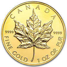 2010 Canada 1 oz Gold Maple Leaf BU - SKU #56410