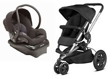 Quinny Buzz 2.0 Travel System In Black With Stroller & Mico NXT Car Seat New!!