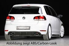 Rieger Heckeinsatz Diffusor li/re für VW Golf 6 GTI Carbon-Look RIEGER-Tuning