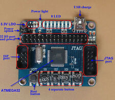 Minimum Core System Development Shield Board MCU for Atmega32 JTAG Mega32 AVR
