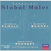 Pergolesi: Stabat Mater; Salve Regina /Scholl · Bonney · Les Talens Lyriques · R