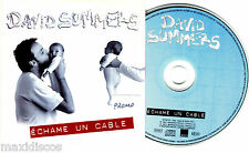 CDS - DAVID SUMMERS (Hombres G) - ÉCHAME UN CABLE (CD-SINGLE PROMOCIONAL)