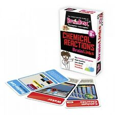 Chemical Reactions Brain Links Science Educational Card Game for Children g30