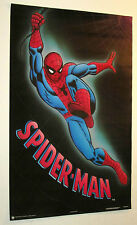 LOT OF 3 SPIDERMAN POSTERS FROM 1989 MARVEL COMICS VINTAGE AND RARE!