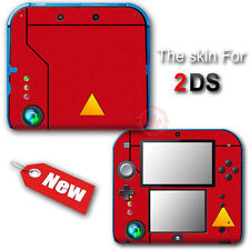 Pokedex Trainer Kit Classic Edition Vinyl Skin Sticker Cover for Nintendo 2DS