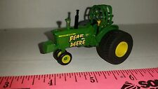 "1/64 ERTL custom ""fear the deere"" John deere 4020 pulling tractor farm toy"