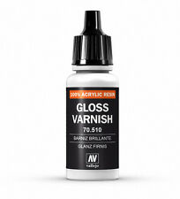 VALLEJO AIRBRUSH PAINT - MODEL AIR ADDITIVES - GLOSS VARNISH 17ML - 70.510