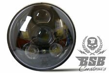 "LED FAROS 5,75"" con luz de estacionamiento Harley Night Train Sportster Dyna softail"