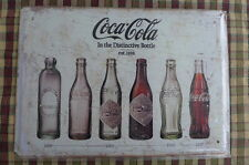 Coca Cola Bottles Metal Sign Painted Poster Wall Art Home Shop Pub Club Canteen
