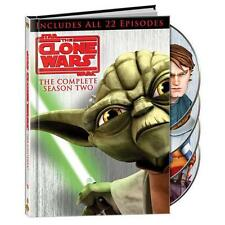 Star Wars: The Clone Wars - The Complete Season Two (DVD, 2010, 4-Disc Set)
