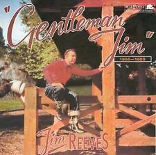 Gentleman Jim: 1955-1959 Box JIM REEVES 1989, 4 CD Discs, Bear Family Records