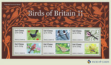 2011 Birds of Britain II (2) Post and Go Stamps in Presentation Pack PPP3