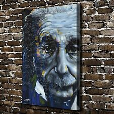 Albert Einstein Paintings HD Print on Canvas Home Decor Wall Art Pictures Poster