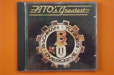 BACHMAN TURNER OVERDRIVE BTO'S GREATEST CD RARO