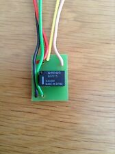 24V MInature Relay Omron G5V-1 Single Pole Pre Wired and Shrink Wrapped
