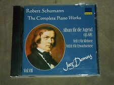 Robert Schumann Complete Piano Works Vol 8 (CD, Nuova Era) Jorg Demus