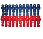 New 22 RED and Blue Foosball table Men Player Soccer Table FOOTBALL TOURNAMENT
