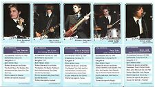 THE CLICK FIVE WHOLE SET BASEBALL PROMO CARDS GREETINGS FROM IMRIE HOUSE