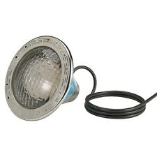 Pentair Amerlite 120V 500W 15' Cord Pool Light with Stainless Steel Face Ring