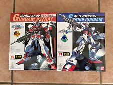2x Bandai Gundam Seed Beginner  Model Kit 1/144 Red Astray & Strike UK Seller