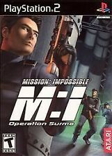 Mission: Impossibe - M:i - Operation Surma  (Sony PS 2, 2003) Rated T for Teen