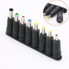 8pcs Angled Tips Universal Notebook AC DC Power Adapter Socket Plug Connector