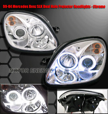98-04 MERCEDES BENZ R170 SLK PROJECTOR HEADLIGHTS 99 03