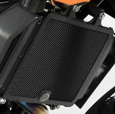 R&G Racing Motorcycle Radiator Guard Black Honda 2009 CBR1000RR-9 Fireblade