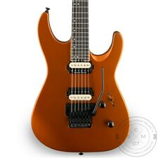 New! Jackson Pro Dinky DK2 MIM Electric Guitar - Satin Orange Blaze