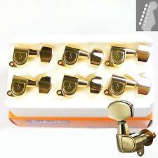 Schaller 505 M6 Standard tuners/machine heads, 6inline Gold