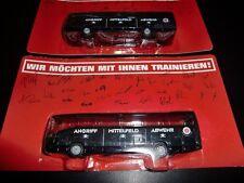 Werbeartikel FC St. Pauli Bus FANBUS mit Unterschriften Autogrammen
