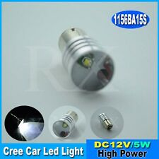 2x1156 Ba15s 382 P21W 5W CREE LED BULB HIGH POWER WHITE CANBUS ERROR FREE 12-24V