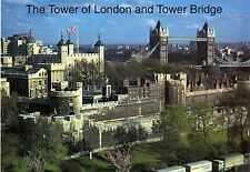 HQ-postcard-The Tower of London and Tower of Bridge-NEW/Nuovo ungelaufen
