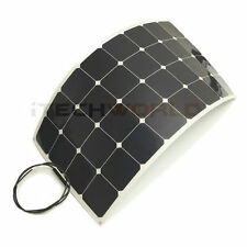 120W Semi Flexible Solar Panel for Caravan, Camping, Boats, 4WD, Motorhome