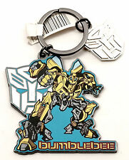 NEW Universal Studios Transformers Bumblebee Autobot Metal Keychain / Key Ring