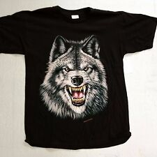 Brazo's Sportswear, Vicious Wolf Adult T-Shirt (Large) New