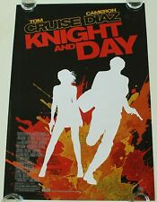 KNIGHT AND DAY DS MOVIE POSTER ONE SHEET NEW AUTHENTIC