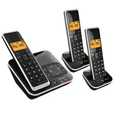 BT XENON 1500 TRIO DIGITAL CORDLESS TELEPHONE + ANSWER PHONE & CALLER ID